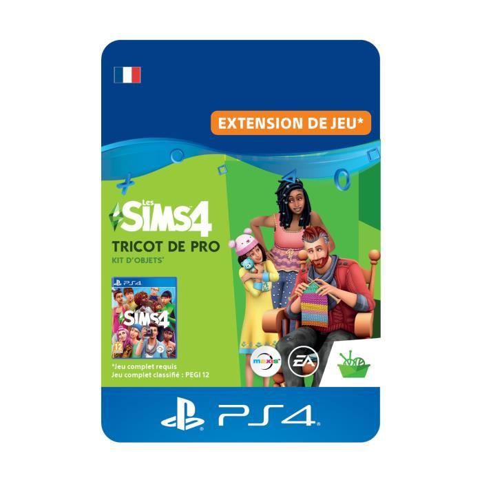 DLC Les Sims 4: Tricot de Pro - Kit d'Objets - Code de Téléchargement PS4