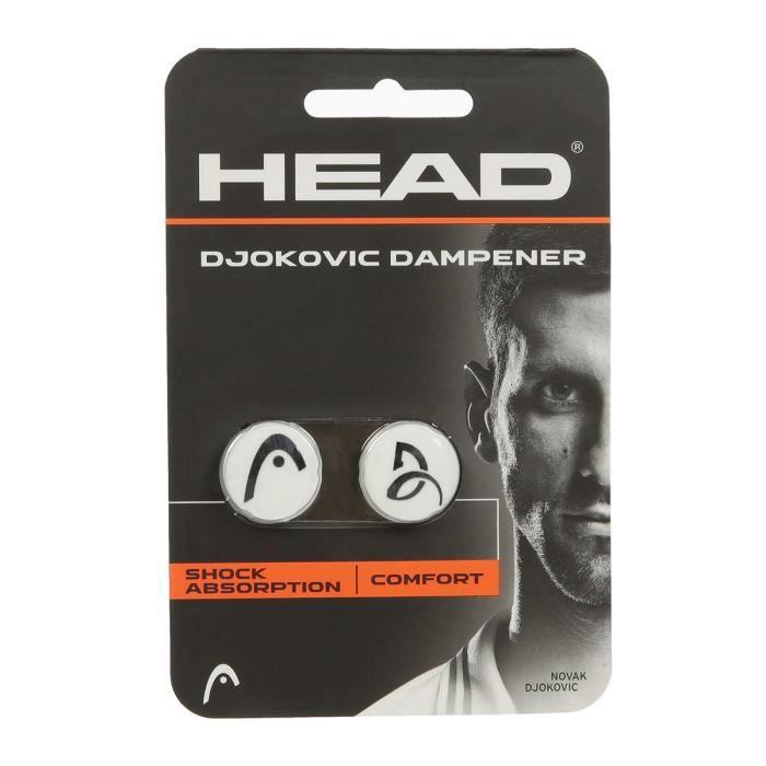 HEAD Anti-vibrateur DJOKOVIC DAMPENER - Noir