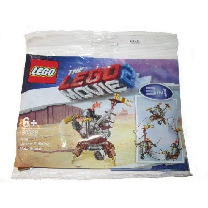 LEGO 30528 Mini Master Building Metalbeard (Polybag) - The LEGO Movie 2