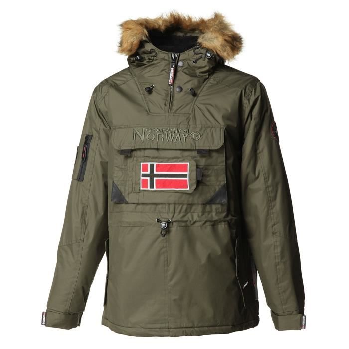 GEOGRAPHICAL NORWAY Parka Barbier New 001 - Homme - Kaki