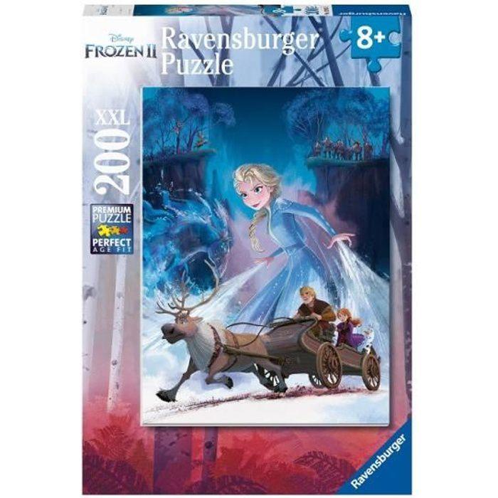 Puzzle 200 p XXL - La forêt mystérieuse / Disney La Reine des Neiges 2