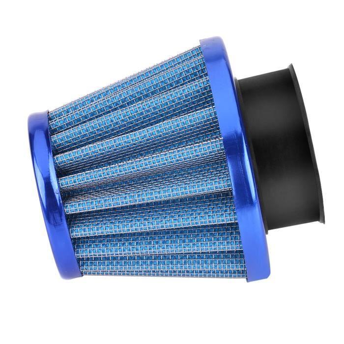 VGEBY® Kit d'induction d'admission de filtre à air de 38 mm pour moto tout-terrain ATV Quad Dirt Pit Bike bleu HB11651