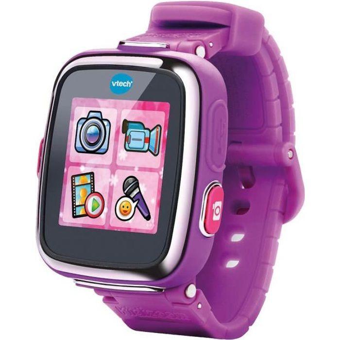 VTECH - Kidizoom Smartwatch Connect DX Mauve - Montre Connectée Enfant