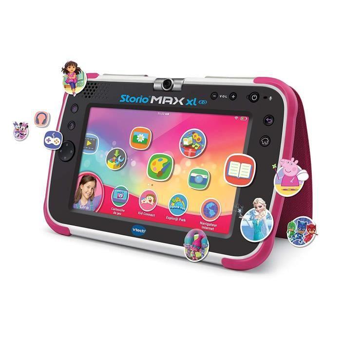VTECH - Console Storio Max XL 2.0 7- Rose - Tablette Éducative Enfant 7 Pouces