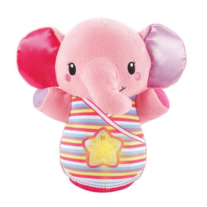VTECH BABY - Veilleuse Elephanteau dodo rose