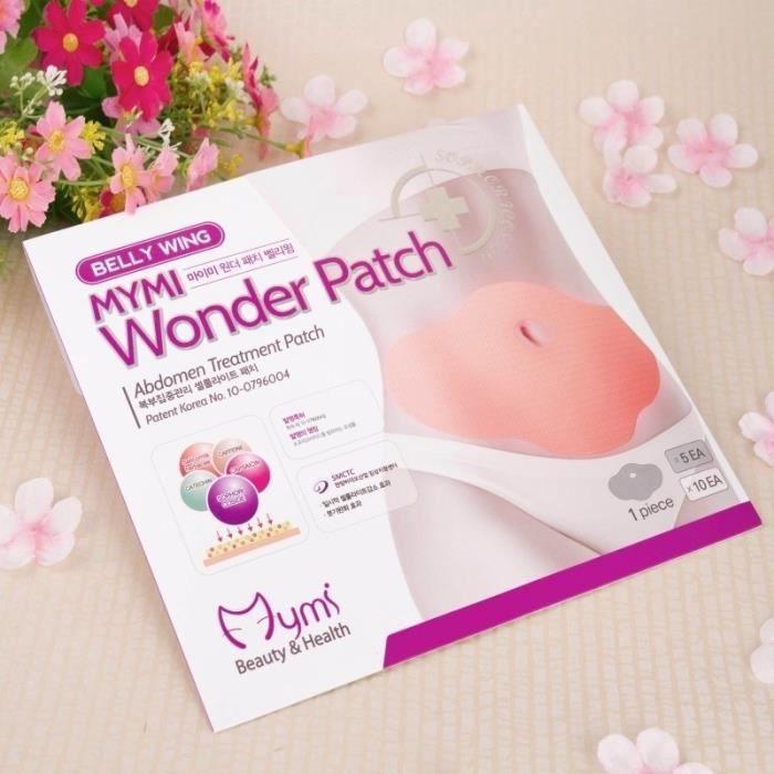 Accessoires santé beauté 5 PCS Belly Minceur Wonder Patch