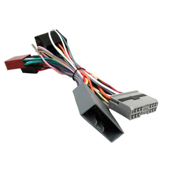 Autorradio adaptador cable iso para Honda Civic accord crv citroen c4 c-crosser
