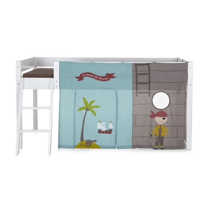 pirate tente pour lit d 39 enfant mi haut achat vente. Black Bedroom Furniture Sets. Home Design Ideas