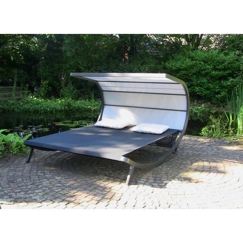 lit de piscine bali achat vente chaise longue. Black Bedroom Furniture Sets. Home Design Ideas