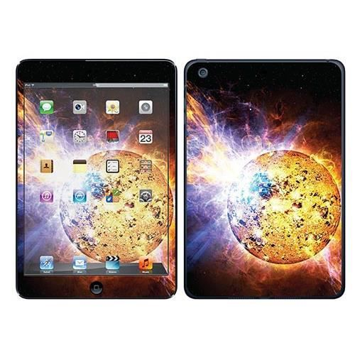 skin stickers pour apple ipad mini 2 sticker eruption solaire prix pas cher cdiscount. Black Bedroom Furniture Sets. Home Design Ideas