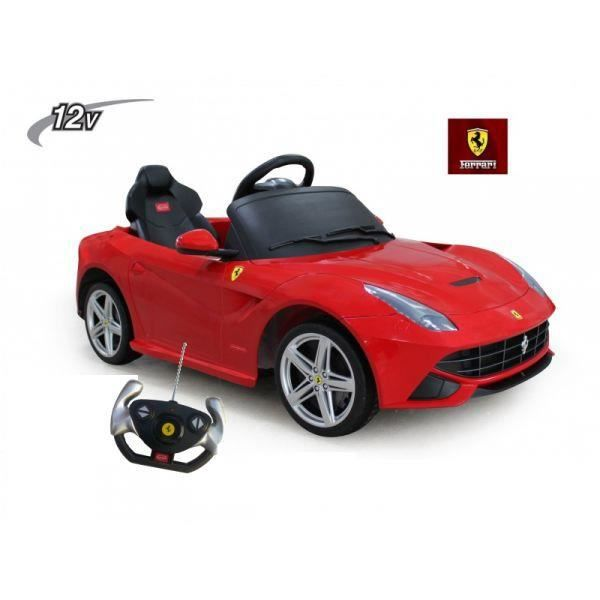 voiture lectrique 12v pour enfant ferrari f12 achat. Black Bedroom Furniture Sets. Home Design Ideas