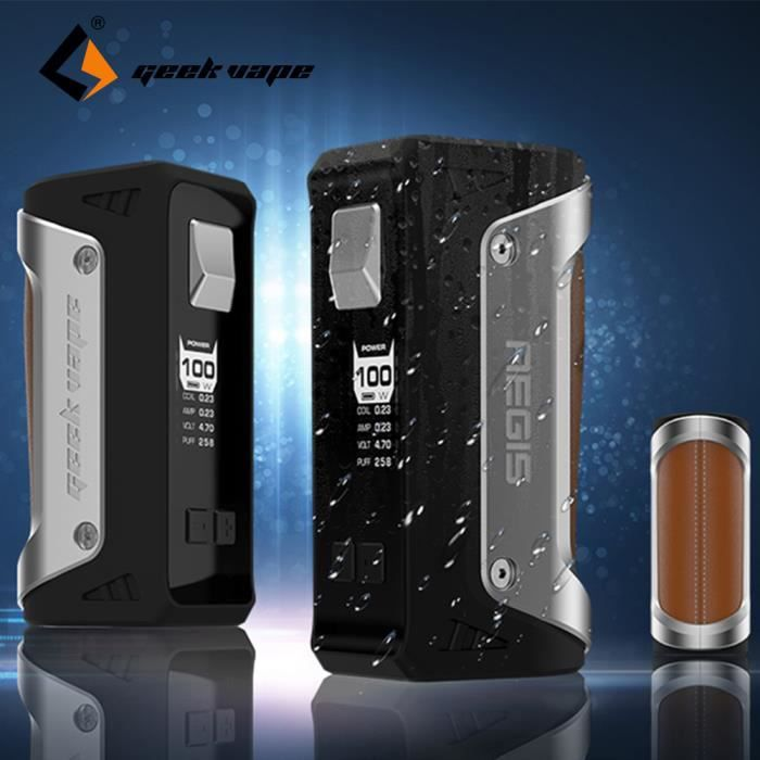 CIGARETTE ÉLECTRONIQUE Authentique 100W Box GeekVape Aegis TC Box MOD san 58f3fbcf4c5e