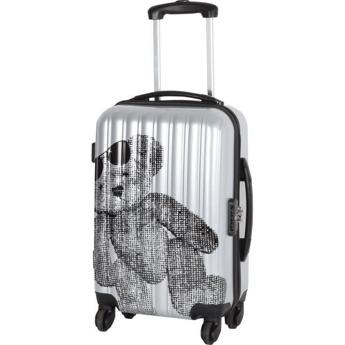 bagages valise  argent taille s f lul
