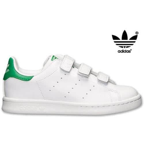 adidas stan smith enfant m20607 blanc achat vente basket cdiscount. Black Bedroom Furniture Sets. Home Design Ideas