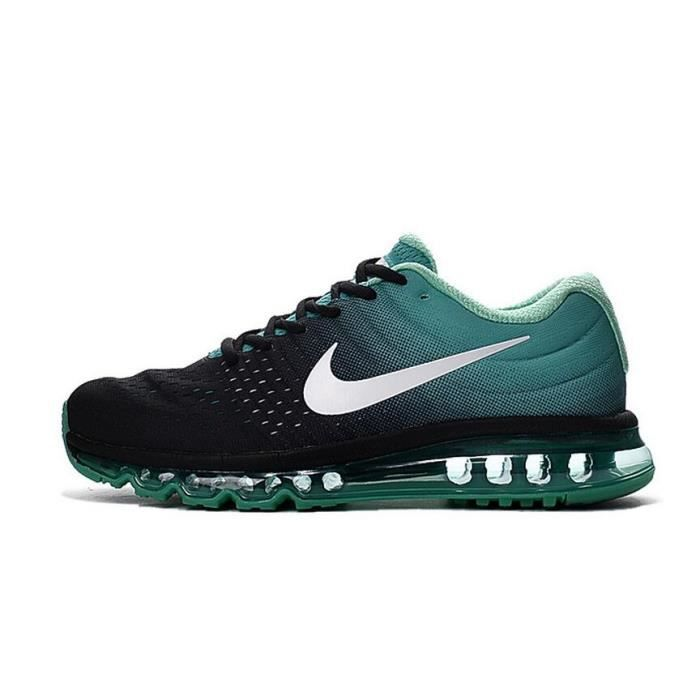 nike air max 2017 baskets chaussures de sport homme femme vert noir tu achat vente basket. Black Bedroom Furniture Sets. Home Design Ideas