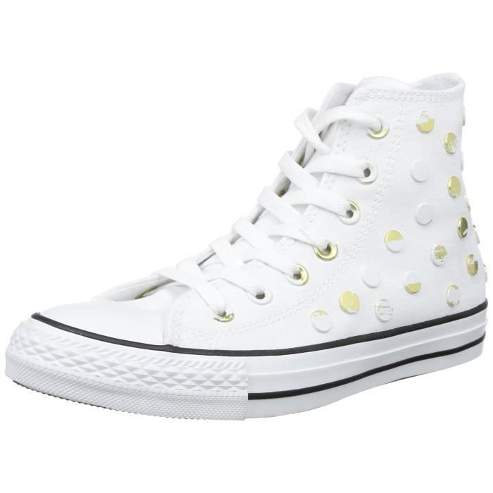 converse all star blanche pour femme