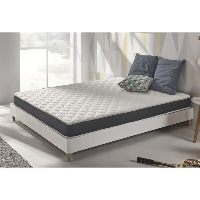 Matelas Naturalex 160x200 Cm En Mousse Blue Latex A 7 Zones Sans