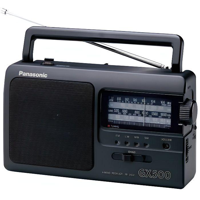 RADIO CD CASSETTE PANASONIC RF-3500 Radio portable Analogique FM/AM