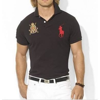polo t shirt homme polo ralph lauren taille m noir achat vente polo 2009973327655 soldes. Black Bedroom Furniture Sets. Home Design Ideas