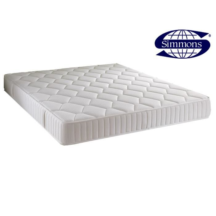 matelas simmons qui tude ressorts ensach s 160x200 achat. Black Bedroom Furniture Sets. Home Design Ideas