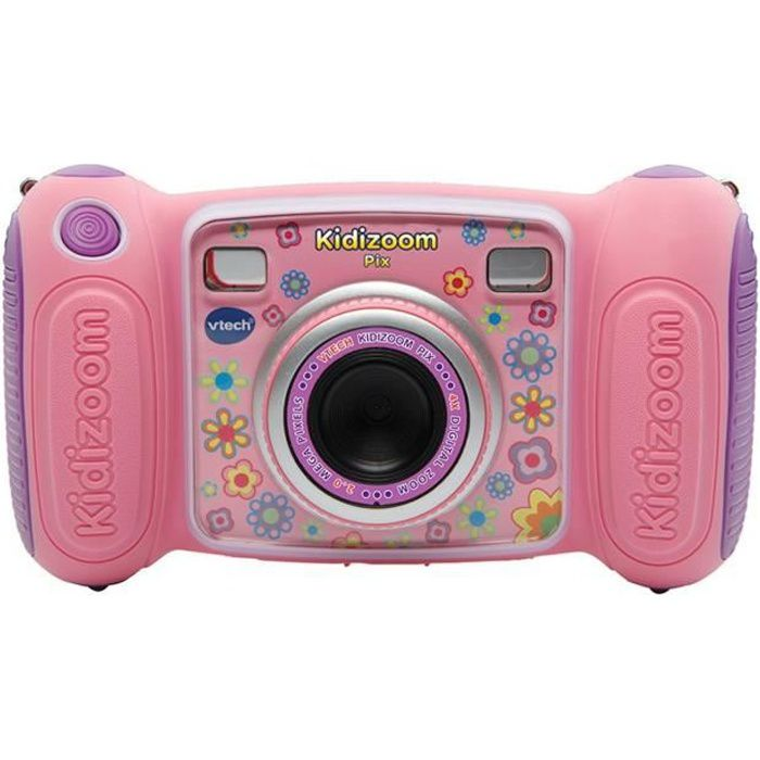 vtech kidizoom pix rose achat vente appareil photo. Black Bedroom Furniture Sets. Home Design Ideas