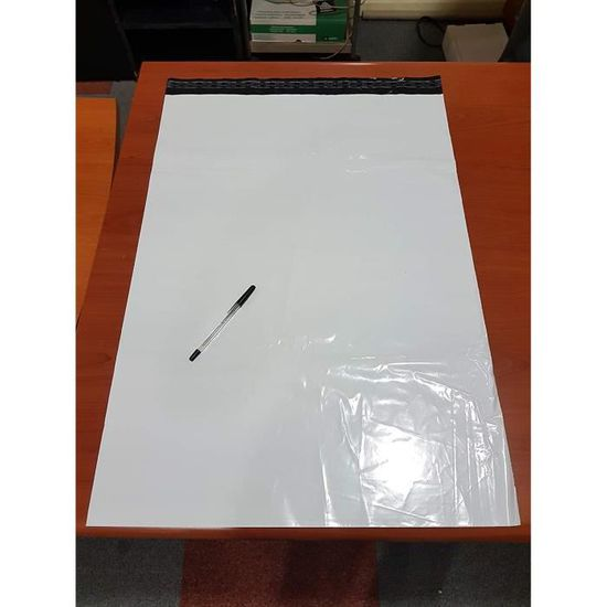 300/x 400/mm Lot de 100 sachets en plastique gris autocollants pour envoi postal