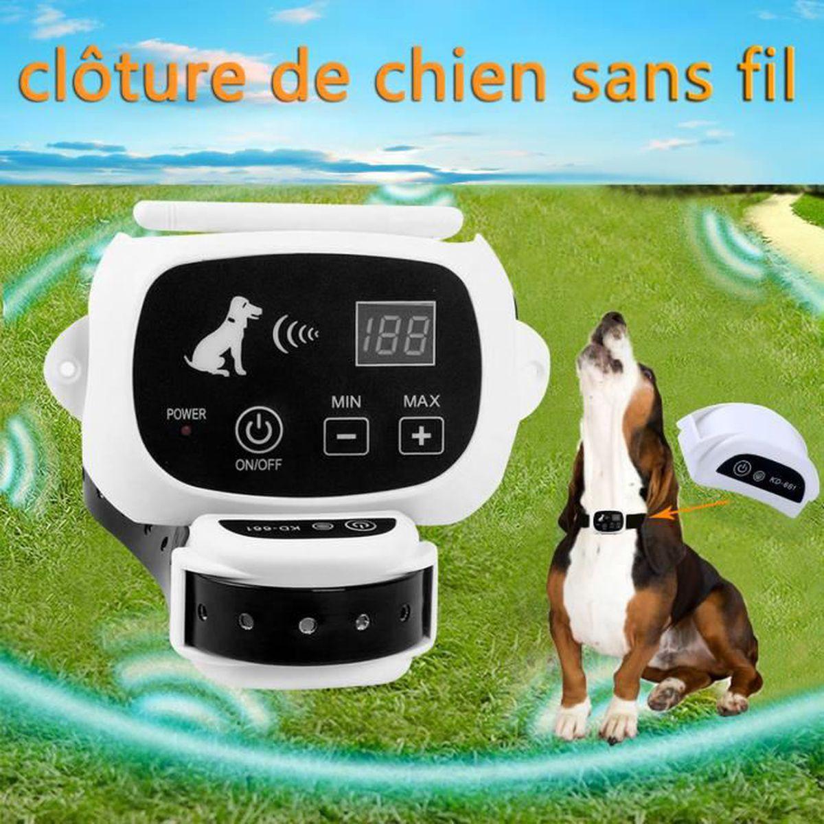 Cloture De Chien Sans Fil Emetteur A Telecommande De Rayon De