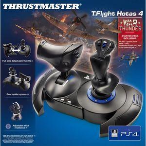 JOYSTICK THRUSTMASTER T.Flight Hotas 4 + Jeu War Thunder PS