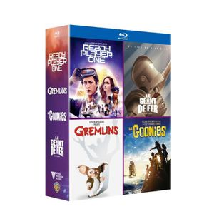 DVD SÉRIE Coffret Blu-ray Amblin 4 films : Ready player one,