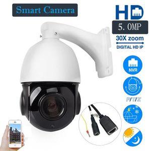 CAMÉRA FACTICE HD 1944P 5MP 30X Zoom HD Caméra dôme extérieure à