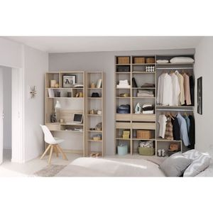 AMENAGEMENT DRESSING Easy Dress en 100 - angle