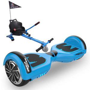 ACCESSOIRES GYROPODE - HOVERBOARD Pack Hoverkart Bleu+MegaMotion Scooter 2 Roues Ble