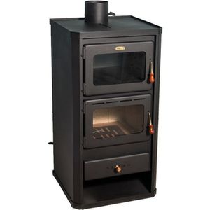 POÊLE À BOIS Poêle à bois 12 kw avec four polycarburant cheminé