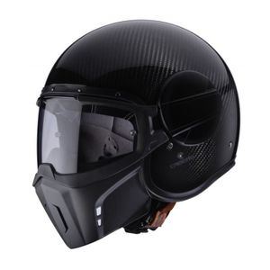 CASQUE MOTO SCOOTER CABERG CASQUE JET GHOST CARBONE M Couleur