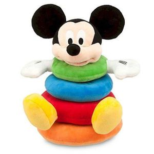 PELUCHE Disney Mickey Mouse Plush Stacking Toy For Baby 2M