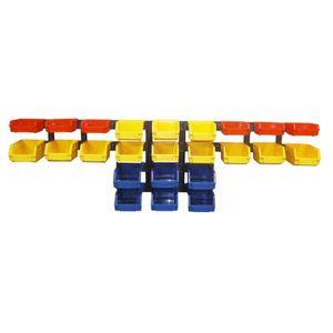 BOITE - MALLETTE 24 bacs casiers de rangement pour garage atelier