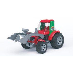 VOITURE - CAMION BRUDER 20102 - Tracteur Claas ROADMAX avec pelle -