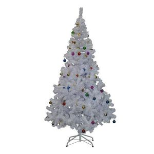 sapin de noel artificiel 150 cm blanc achat vente sapin de noel artificiel 150 cm blanc pas. Black Bedroom Furniture Sets. Home Design Ideas