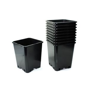 pot plastique carre achat vente pas cher. Black Bedroom Furniture Sets. Home Design Ideas