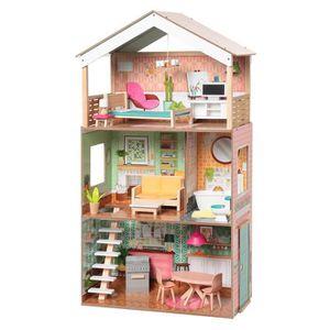 MAISON POUPÉE KIDKRAFT - Maison de poupées en bois Dottie