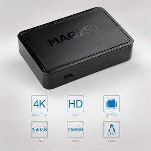 BOX MULTIMEDIA MAG 250 IPTV Décodeur numérique Linux HD Lecteur m