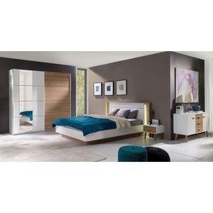 CHAMBRE COMPLÈTE  Chambre à coucher complète ARTUR. Lit avec coffre