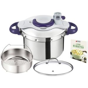 COCOTTE MINUTE Autocuiseur Clipso minut perfect + couvercle 6l in