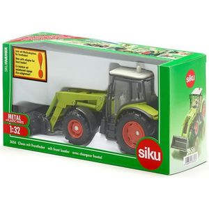 VOITURE - CAMION SIKU - Tracteur Claas avec Chargeur Frontal Echell