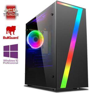 UNITÉ CENTRALE  Vibox DX-25 PC Gamer avec 2 Jeux Gratuits, Win 10