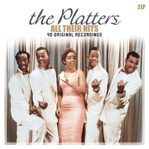 VINYLE COMPILATION THE PLATTERS All Their Hits - Compilation - 33 Tou