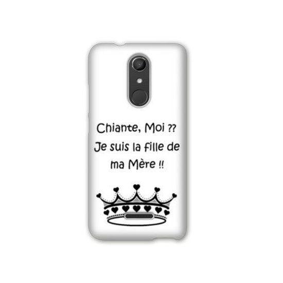 Coque Wiko U Pulse LITE Humour taille unique Moi Chiante B