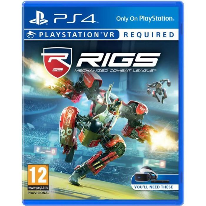 RIGS : Mechanized Combat League VR