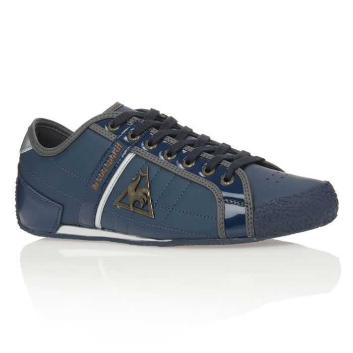 le coq sportif baskets escrime homme homme bleu achat vente le coq sportif baskets escrime. Black Bedroom Furniture Sets. Home Design Ideas