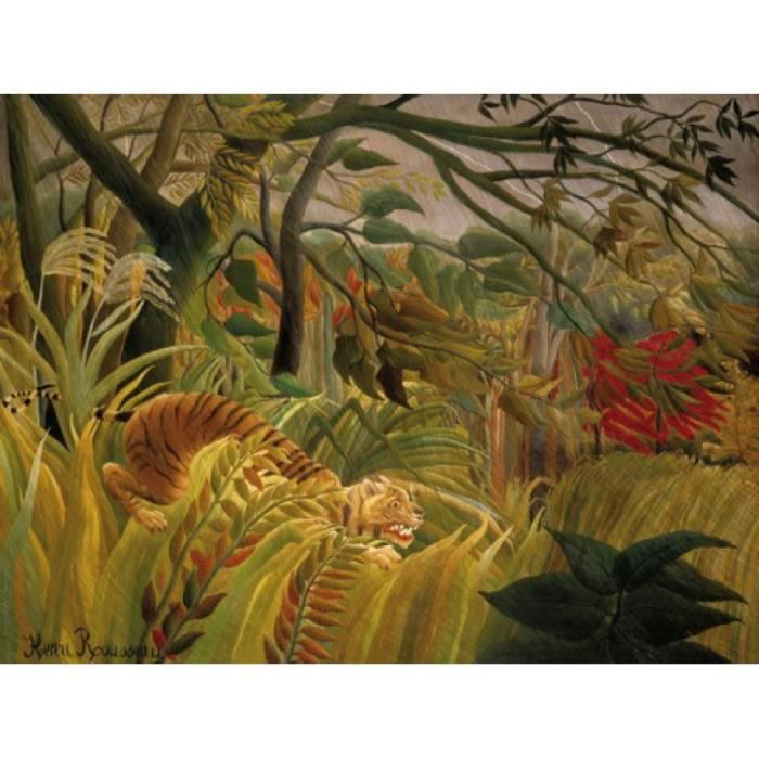 Henri rousseau papier peint photo poster orag achat - Papier peint reproduction tableau ...